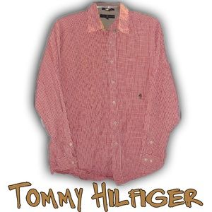 MENS: TOMMY HILFIGER Checked Button-Front Shirt